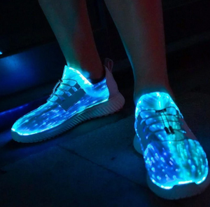 Wsnd Pro™ LUMINOUS FIBER OPTIC SHOES