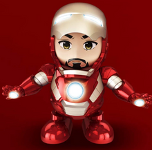 Load image into Gallery viewer, Dancing robot(Iron Man,Bumblebee,Spiderman)