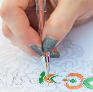 Gel Pens For Adult Coloring Books