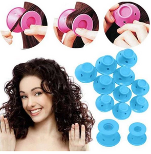 50% OFF SILICONE HAIR CURLER
