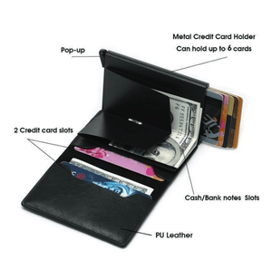 RFID Blocking Vintage Safe Wallet