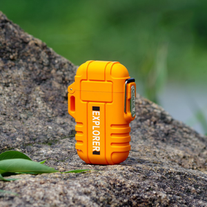 ABS USB charging silent lighter Waterproof & windproof outdoor