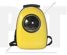 Load image into Gallery viewer, Transparent Space Capsule  Pet Cat Carrier