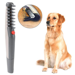Anti Knot Electric Pet Grooming Comb Hair Trimmer
