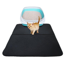 Load image into Gallery viewer, 3 Size Large Double Layer Cat Litter Mat