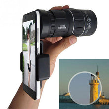 Load image into Gallery viewer, Monocular Telescope Night Vision Dual Focus Telescope