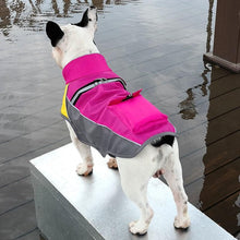 Load image into Gallery viewer, Winter Waterproof Dog Jacket Night Reflective with Small Backpack