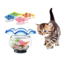 Load image into Gallery viewer, Original Fish Cat Toy