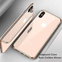Load image into Gallery viewer, Luxury Plating Phone Cases for iPhone X XS XR 8 7 6 6s Plus XS Max
