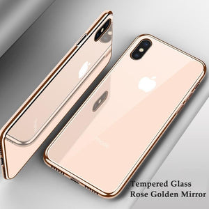 Luxury Plating Phone Cases for iPhone X XS XR 8 7 6 6s Plus XS Max