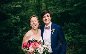 Anna and Ellen, A Charming Country Wedding