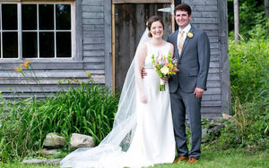 Laura & Jay,  Vermont Country Wedding