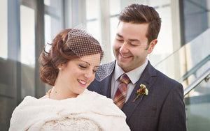 Sheena & Jared, A Canadian Winter Wedding