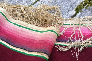 Vintage 1930s Mexican Serape | A One-Of-A-Kind