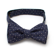 "1940s Sioux Falls Calico Bow - General Knot & Co. ,  Self-Tied Classic Bow Tie 2.5"" at Widest - Neckwear and travel bags"