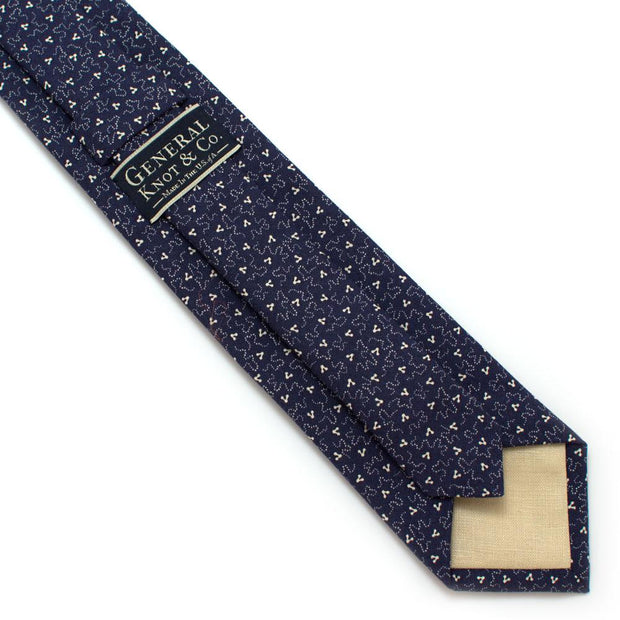 "1940s Sioux Falls Calico Necktie - General Knot & Co. ,  Classic Necktie 2 7/8"" x 58"" - Neckwear and travel bags"
