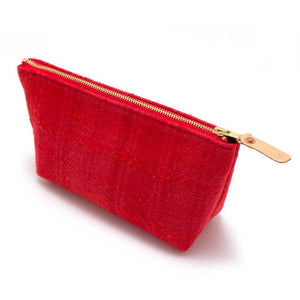 1950s Boucle Wool Travel Clutch - General Knot & Co. ,  Women's Carryalls - Neckwear and travel bags
