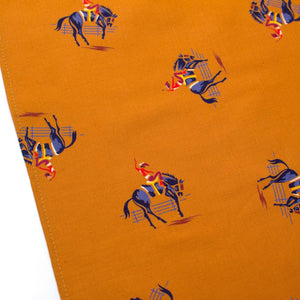 "1950s Bucking Bronco Square - General Knot & Co. ,  Squares 13""x13"" - Neckwear and travel bags"
