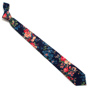 "1960s Garden Trellis Necktie - General Knot & Co. ,  Classic Necktie 2 7/8"" x 58"" - Neckwear and travel bags"