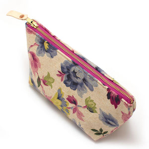 1960s Oat Floral Travel Clutch - General Knot & Co. ,  Bags - Neckwear and travel bags