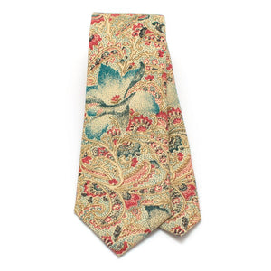 "1960s Ravello Paisley Necktie - General Knot & Co. ,  Classic Necktie 2 7/8"" x 58"" - Neckwear and travel bags"