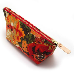 1960s Savannah Garden Travel Clutch - General Knot & Co. ,  Bags - Neckwear and travel bags