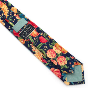 "1960s Spring Garden Necktie - General Knot & Co. ,  Classic Necktie 2 7/8"" x 58"" - Neckwear and travel bags"