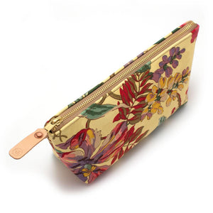1960s Wild Poppies Makeup Bag - General Knot & Co. ,  Bags - Neckwear and travel bags