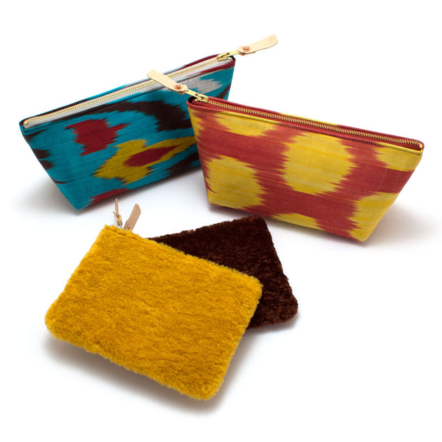 Bazaar Ikat Travel Clutch