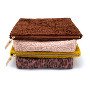 Faux Fur Monster Clutch- Brown Bear