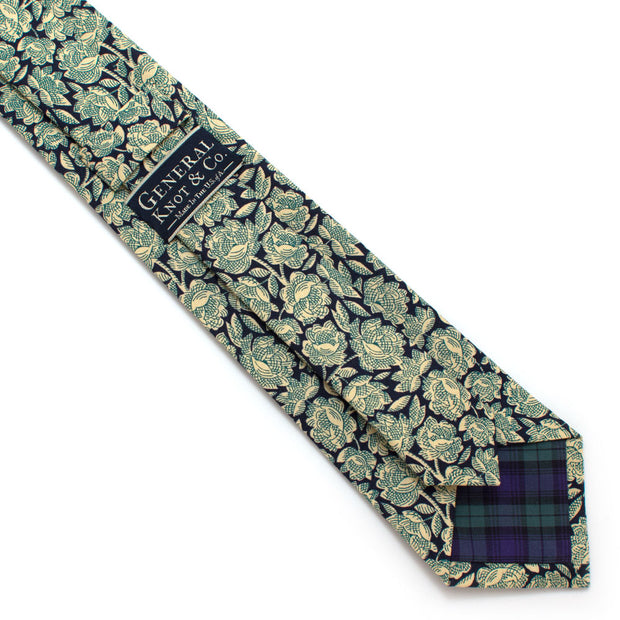 Cool Shade Floral Necktie