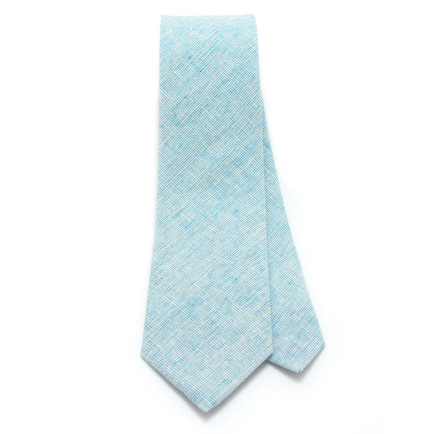 Robins Egg Homespun Chambray Necktie
