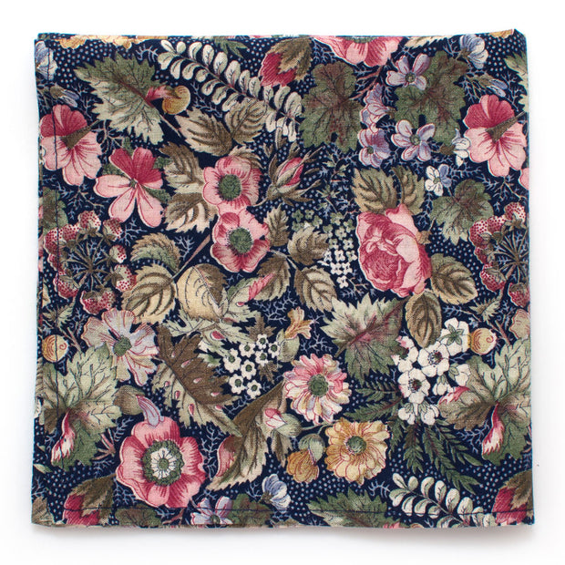 Vintage Meadow Floral Square