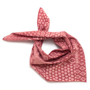 Dusty Rose Block Print Bandana