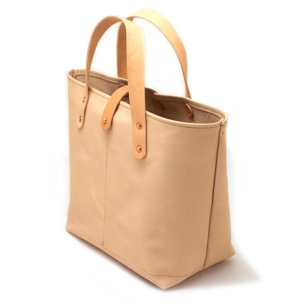 Blonde Leather All Day Mini Tote