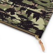 1940s Buck Camo Laptop Sleeve- Carryall Large