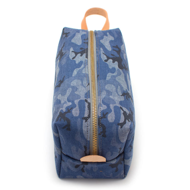 Chambray Camo Travel Kit