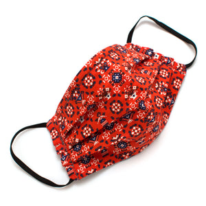 Reusable Pennsylvania Dutch Face Mask- Elastic Loops- Kid's sizes available