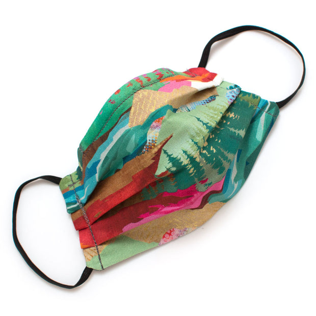 Reusable 4-Pack Face Masks- Great Outdoors- Elastic Loops