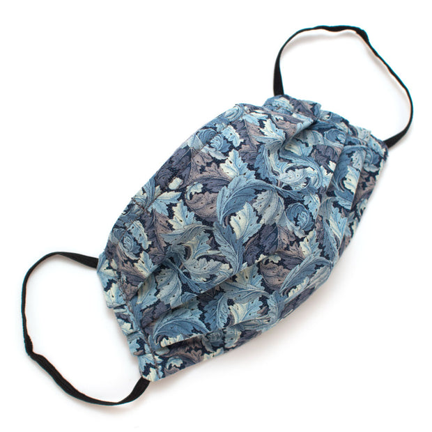 Reusable Blue Vineyard Face Mask- Elastic Loops