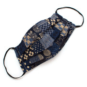 Reusable Japanese Patchwork Face Mask- Elastic Loops