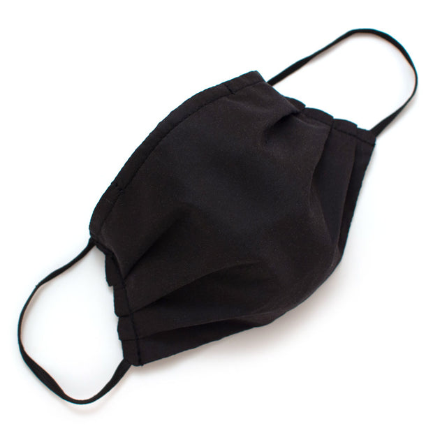 Reusable Formal Black Face Mask- Elastic Loops