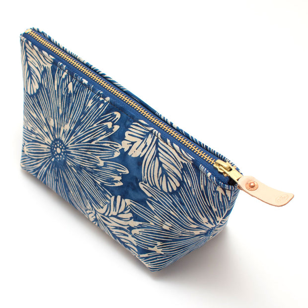 South Pacific Floral Travel Clutch