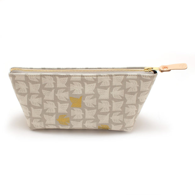 Gilded Dove Travel Clutch
