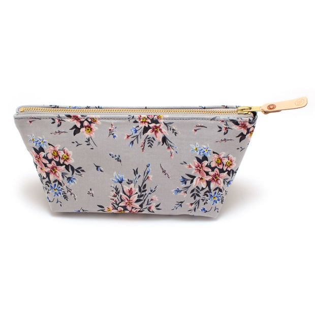 Bell Tower Floral Travel Clutch