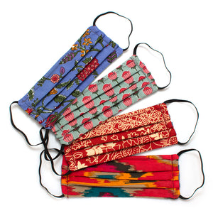 Reusable 4-Pack Face Masks: Destination- Elastic Loops
