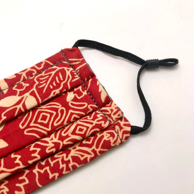 Reusable Jasper Paisley Face Mask- Elastic Loops- Kids sizes available