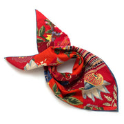 Bengal Patchwork Double Sided Bandana- Red - General Knot & Co. ,  Squares - Neckwear and travel bags