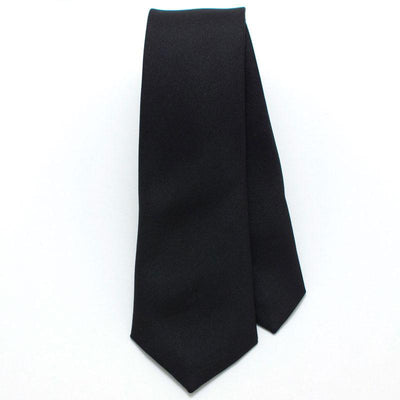 "Black Formal Skinny Necktie - General Knot & Co. ,  Skinny Necktie 2"" x 58"" - Neckwear and travel bags"