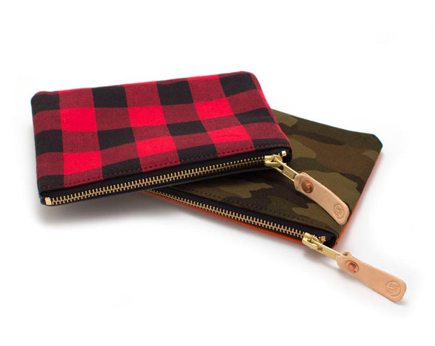 Buffalo Check Carryall- Small - General Knot & Co. ,  Bags - Neckwear and travel bags